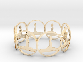 6 (4).stl (1) in 14K Yellow Gold