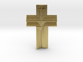Scarpa Cross in Natural Brass
