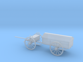 1/72 Scale Civil War Artillery Battery Wagon in Smooth Fine Detail Plastic