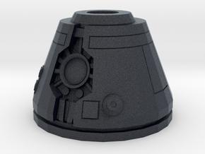 Upscaled Bot Head in Black PA12