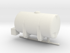 1/64th Brine Deicer tank for Tow Plow Combination in White Natural Versatile Plastic