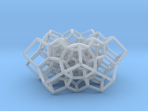 Partial 120-cell, torus-shaped in Smooth Fine Detail Plastic: Medium