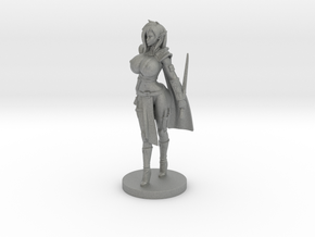 Fuary Evarind 120mm in Gray PA12: Small