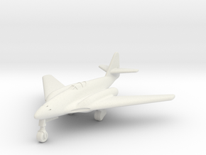 (1:200) Messerschmitt Me 262 HG III in White Natural Versatile Plastic