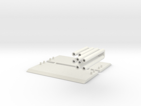 1:64 scale Trench Box  in White Natural Versatile Plastic