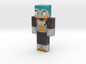 Vegeta | Minecraft toy in Natural Full Color Sandstone