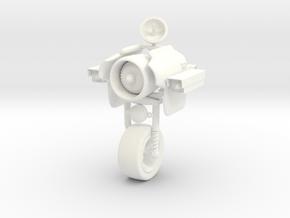 Surveilance Motodroide / Droide de Vigiancia in White Processed Versatile Plastic