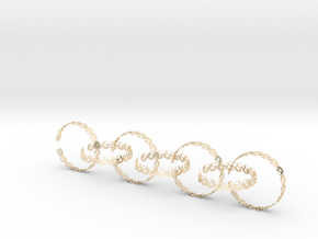 Seven size 6 18.11 mm in 14K Yellow Gold