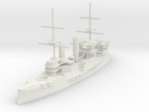 Borodino-Class Battleship in White Natural Versatile Plastic: 1:1250