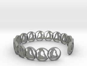 one size 6 18.11 mm ring in Gray PA12