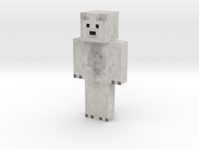 Wigloo   Minecraft toy in Natural Full Color Sandstone