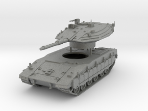 Merkava Mk 4 MTB Scale: 1:87 in Gray PA12