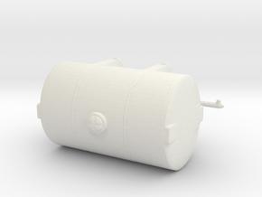 1/50th Brine Salt Deicer tank for Tow Plow  in White Natural Versatile Plastic