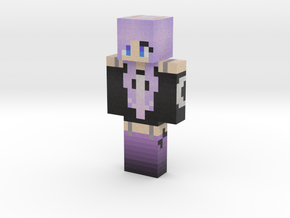 white_rabbit | Minecraft toy in Natural Full Color Sandstone
