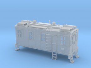 Boxcab Diesel Engine Z scale Revised in Smooth Fine Detail Plastic