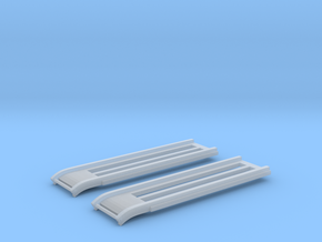 1/144 DKM Schnellboot S100 Rails Set in Smooth Fine Detail Plastic