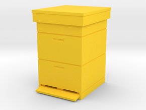 Beehive Dadant 1/22.5 in Yellow Processed Versatile Plastic