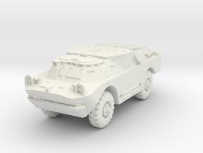 BRDM 2 Sagger (closed) scale 1/87 in White Natural Versatile Plastic