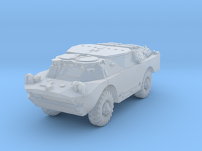 BRDM 2 Sagger (closed) scale 1/160 in Smooth Fine Detail Plastic