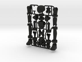 Erstaz MKII action figure Angel Body in Black Premium Versatile Plastic