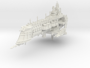 Acorazado clase Vanquisher  in White Natural Versatile Plastic