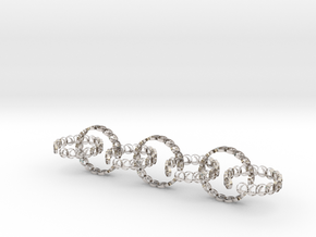 7 size 6 18.11mm rings in Rhodium Plated Brass