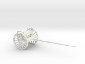 1/72 Scale Forge Limber M1902 M1 in White Natural Versatile Plastic