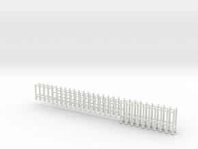 EMD stanchions 35 series  HO plastic in White Premium Versatile Plastic