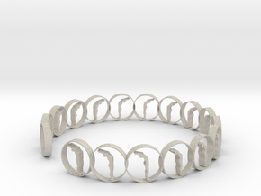 6 ring in Natural Sandstone
