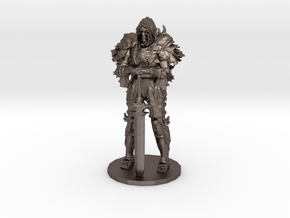 Darkwraith Dark Souls miniature fantasy games rpg in Polished Bronzed-Silver Steel