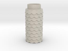 Scalloped in Natural Sandstone