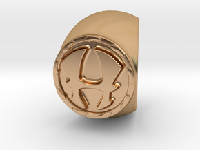 Hercules Ring Size 9 in Polished Bronze
