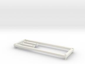 Magnetic body mount for ECX Barrage/RGT Adventurer in White Natural Versatile Plastic