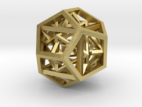 27mm geometron gmtrx in Natural Brass