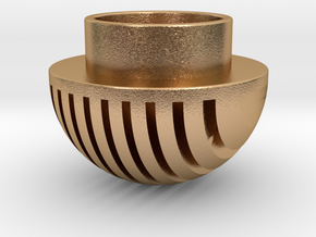 Plates Pommel in Natural Bronze