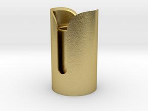 Snips Emitter in Natural Brass