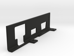 Early Commodore VIC-20 Port Cover Plate by COREi64 in Black Natural Versatile Plastic