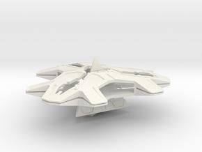 Stargate Goa'uld Hatak Armada Scale in White Natural Versatile Plastic