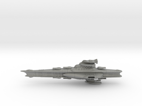 Novus Regency Battleship in Gray Professional Plastic