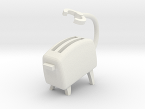 Toasty [Battle Stance] in White Natural Versatile Plastic
