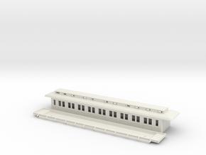 Co1 - Swedish passenger wagon in White Natural Versatile Plastic