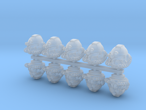 Marine_mk51_helmet_x10 in Smooth Fine Detail Plastic