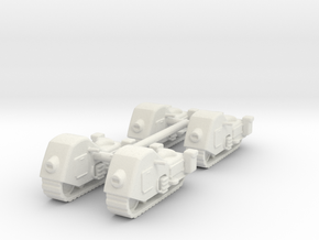 Schneekrad military concept  1:72 in White Natural Versatile Plastic