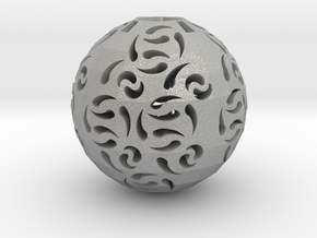 Hollow Sphere 1 in Aluminum