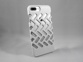 iPhone 7 Plus DIY Case - Ventilon in White Processed Versatile Plastic