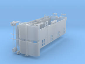 HO Scale CNJ 1000 Boxcab in Smooth Fine Detail Plastic