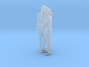 Printle C Couple 090 - 1/48 - wob in Smooth Fine Detail Plastic