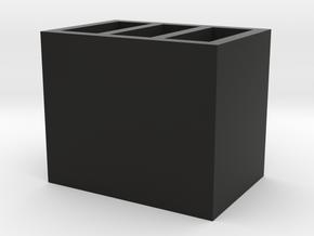 USB Storage in Black Natural Versatile Plastic