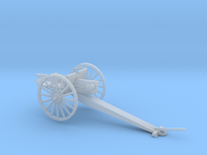1/100 Scale 3 inch Gun Carriage M1902 in Smooth Fine Detail Plastic