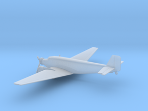 Junkers Ju 52 Iron Annie in Smooth Fine Detail Plastic: 6mm